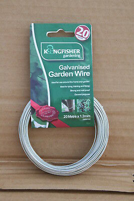 Wholesale stock job lot Galvanised Garden Wire Tarnished 1.2mm 1.6mm x18