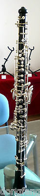 Silver Plated Professional Full Automatic ebonywood Oboe by Eastern music