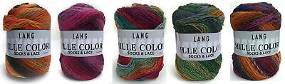 Lang Yarns Mille Colori Socks & Lace Lacegarn Sockenwolle 4fach 4-fädig stricken