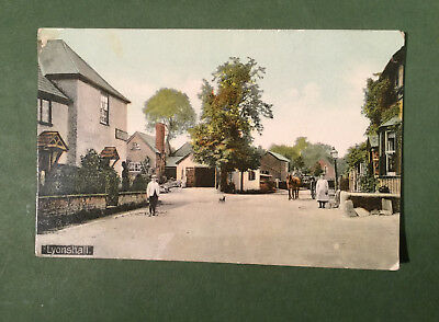 Lyonshall posted Brm 1911 vintage postcard Hereford shire