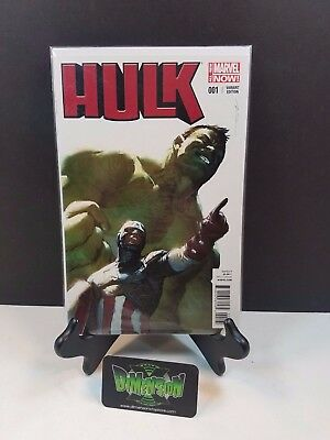 Hulk #1 Parel 1:20 Variant NM Marvel Comics Now Avengers Thor