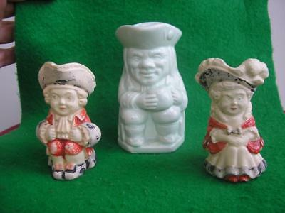 EARLY FAIRINGS Well Antique TOBY JUGS small miniature vintage 24 x BIG PICTURES