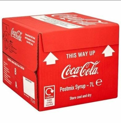 Coca Cola Shweppes Brivic  Bag in Box Post Mix Syrup 10 LITRE NOT 7 LITRE