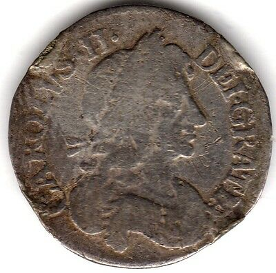 1679 Charles II Silver Threepence***Collectors***