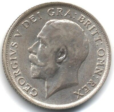 1916 George V Silver One Shilling***UNC***Collectors***