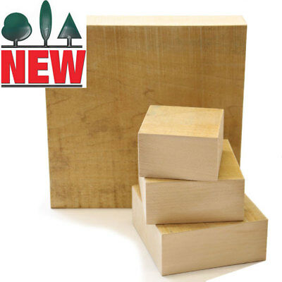 Lime Carving Blank, 65mm thick, Sawn, Square