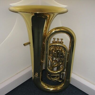 Ex-Hire Second Hand Yamaha Eb Tuba YEB-632 Yellow Brass Clear Lacquer Finish