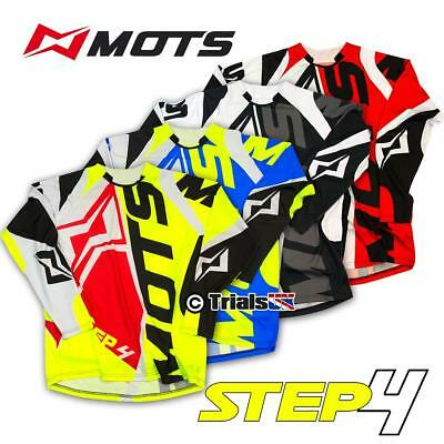 MOTS Step 4 Trials High Spec Riding Shirt - In 5 Colours