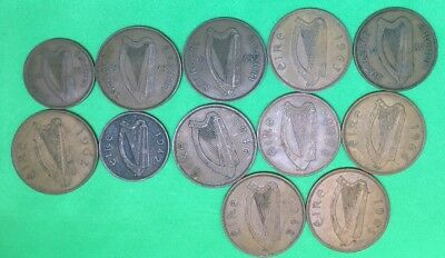 Selection Of Ireland Penny/Half-Penny Coins***Collectors***