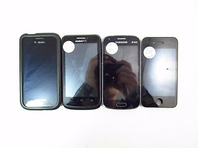 Lot of 4 Assorted GSM Phone's Check IMEI B PB2