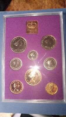 Royal Mint - Cased 1970 Last Pre-Decimal Proof Coinage Set