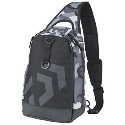 Daiwa One Shoulder Bag C Gray Camouflage New