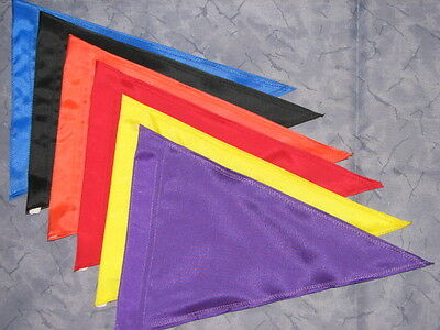 Blank TRIANGLE Safety Flag for ATV UTV JEEP Bike Dune Whip Pole