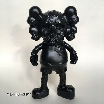 Kaws x Pushead Companion Toy Replica in Black Original Fake