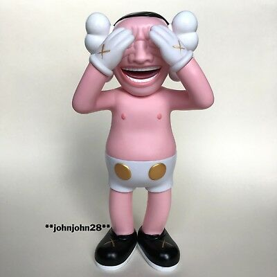 Kaws x Yue Minjun Companion Toy Figure Replica Original Fake