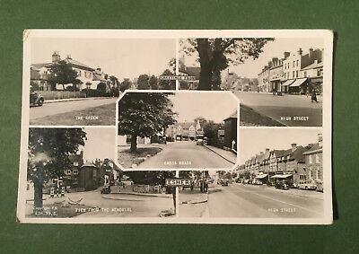 Esher multiview c1950 vintage postcard Surrey