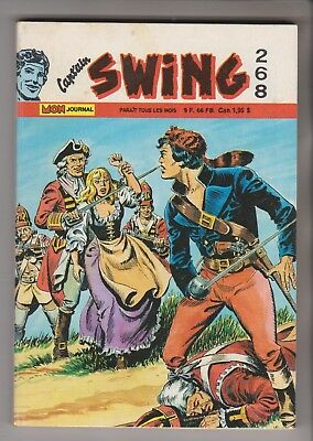 Cap'tain Swing N° 268 - 1ère série - Octobre 1988 - BRIK - CISCO KID - 118 X 169