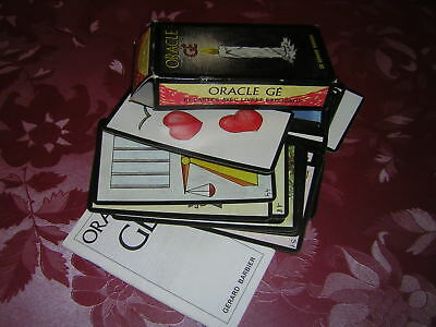 Jeu de Cartes :Oracle Gé