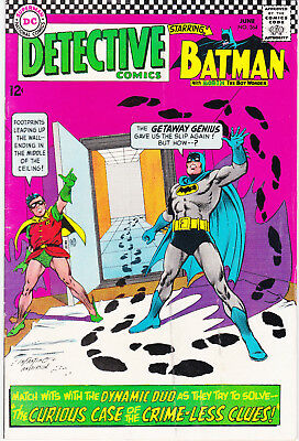 Detective Comics 364 - Riddler App (Silver Age 1967) - 6.5