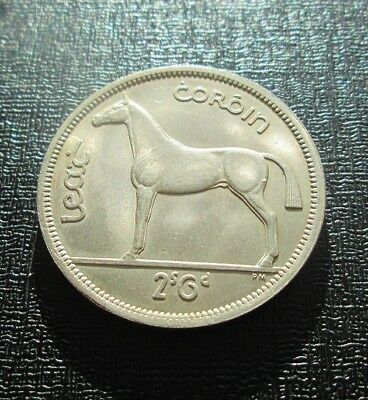 1964 Ireland - Irish Horse Half Crown - Lustrous High grade, near UNC