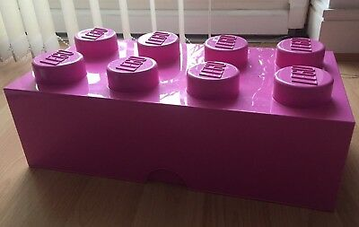 Lego Giant Block Storage Solution Pink