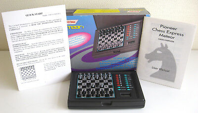 Systema Meteor Electronic Chess Computer Game Set - vgc