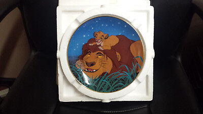 """Disney The Lion King Collectible Plate """"We'll Always Be Friends"""""""