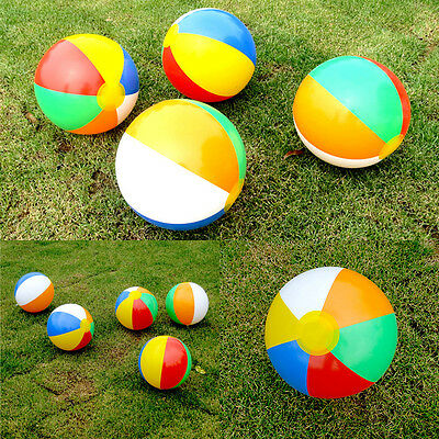 1 Pcs Beach Pool Ball Inflatable Aerated Air Stress Water Educational Toys oi