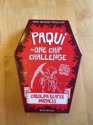 Paqui Carolina Reaper Madness One Chip Challenge, Super Hot!!!