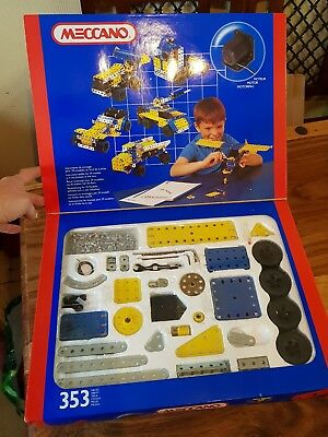 1993 Meccano Metal Erector 030403 - Motor Included