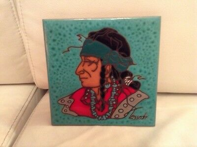Teissedre Design Inc. Made In Usa. Tile/trivet Or Wall Hanging.