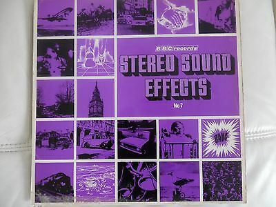 Stereo Sound Effects Bbc Records No 7 Vinyl Lp