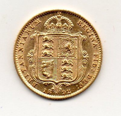 1892 Half Sovereign