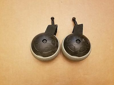 Pride Jazzy 600 Power Wheelchair Rear Caster Wheels