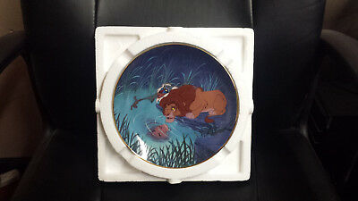 """Disney The Lion King Collectible Plate """"The King Within"""""""