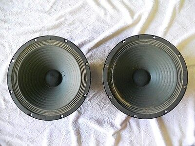 Pair VINTAGE SPEAKERS ELECTRONIC- MELODY (CIARE) 10""