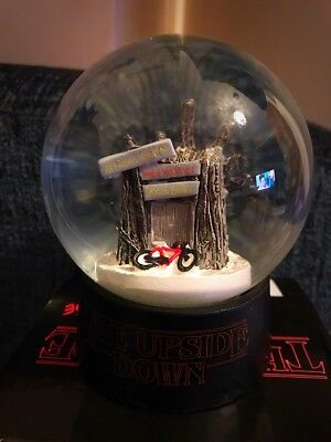 Stranger Things Upside Down Snow Globe