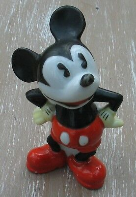 VINTAGE POTTERY WALT DISNEY MICKEY MOUSE TOOTHBRUSH HOLDER Reg No 789573