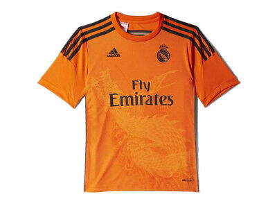 Adidas M37483 REAL MADRID Torwart Trikot Gr. 128 - 164