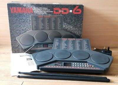 Yamaha DD6 Digital Percussion Drum Pads Machine