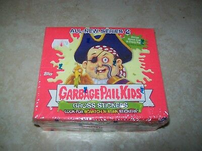 Garbage Pale Kids - Series 2 Gross Stickers (2004 Sealed Box)