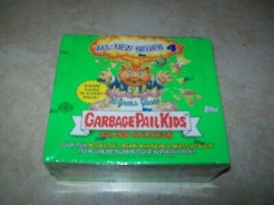 Garbage Pale Kids - Series 4 Gross Stickers (2005 Sealed Box)