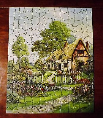 Vintage PICTURE PUZZLE / RARE and COMPLETE / F. N. Burt