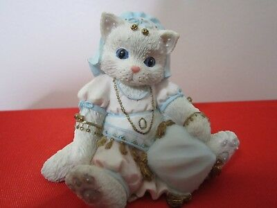 Vintage Calico Kittens Figurine FRIENDSHIP HAS MANY RICHES 1994 P Hillman#129755