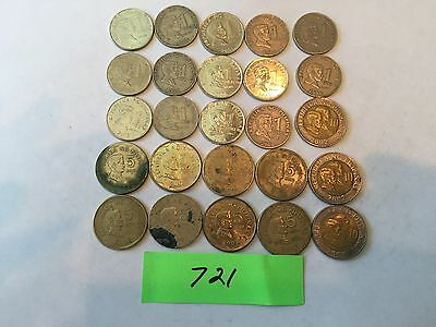 Philippines coin Piso foreign coin lot 721