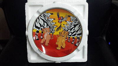 """Disney The Lion King Collectible Plate """"I'm Gonna Be King"""""""