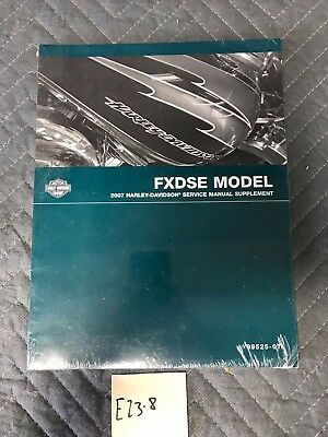 2007 Harley-Davidson FXSTDSE Deuce Service Manual Supplement 99525-07