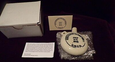 Red Wing RWCS Commemorative Collectors Society 2015 Miniature Canteen