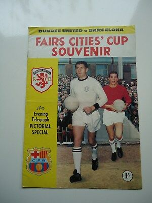 1966/67 Dundee United v Barcelona Inter Cities Fairs Cup 2nd Round 2nd Leg