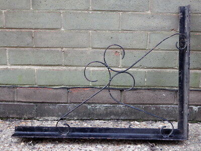 WROUGHT IRON Old Pub / House SIGN BRACKET